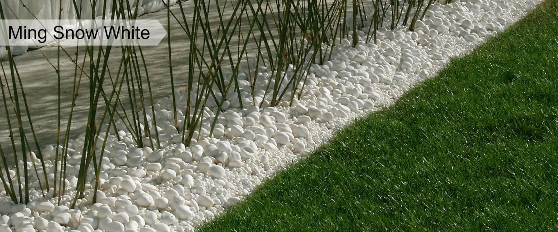Australian natural stones garden pebbles for sale decor for White garden rocks for sale